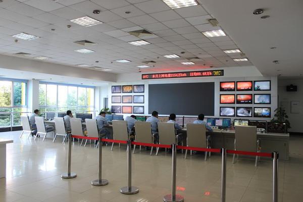 光大环保控制室