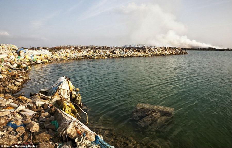 马尔代夫垃圾