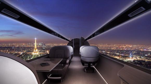 全透明飞机